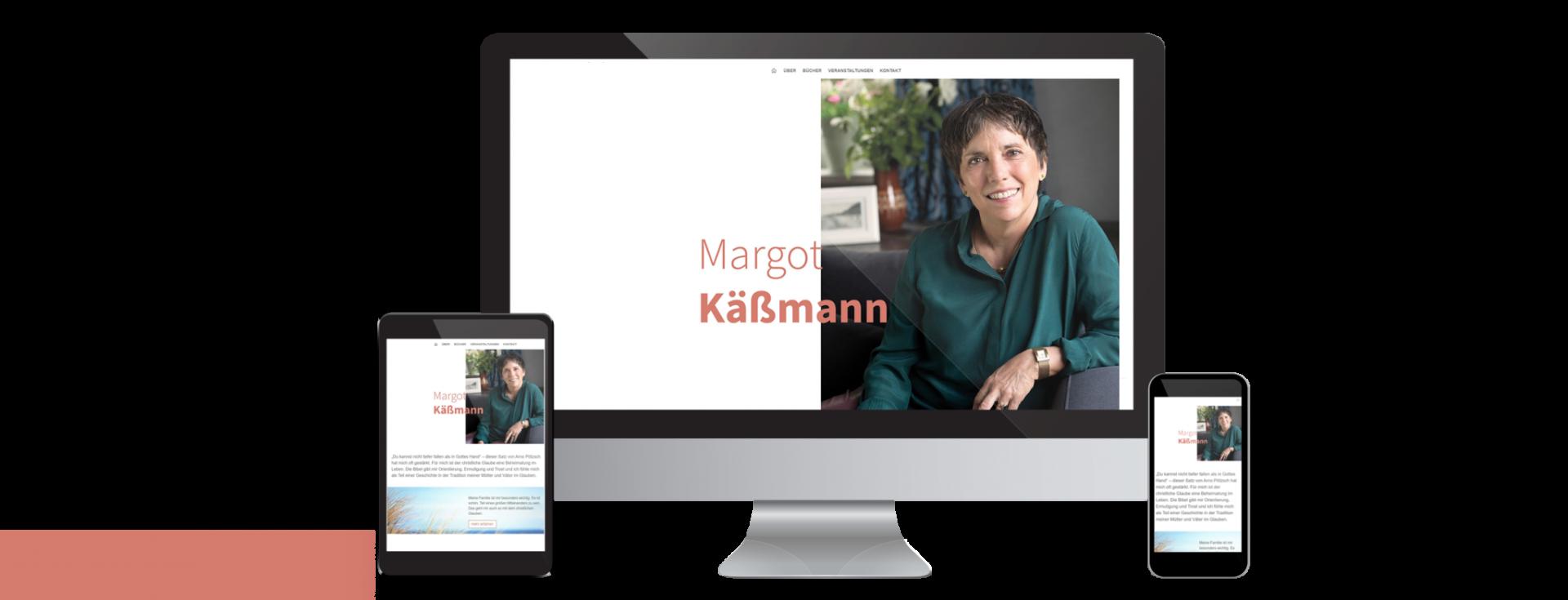 Ansicht Webseite Margot Käßmann