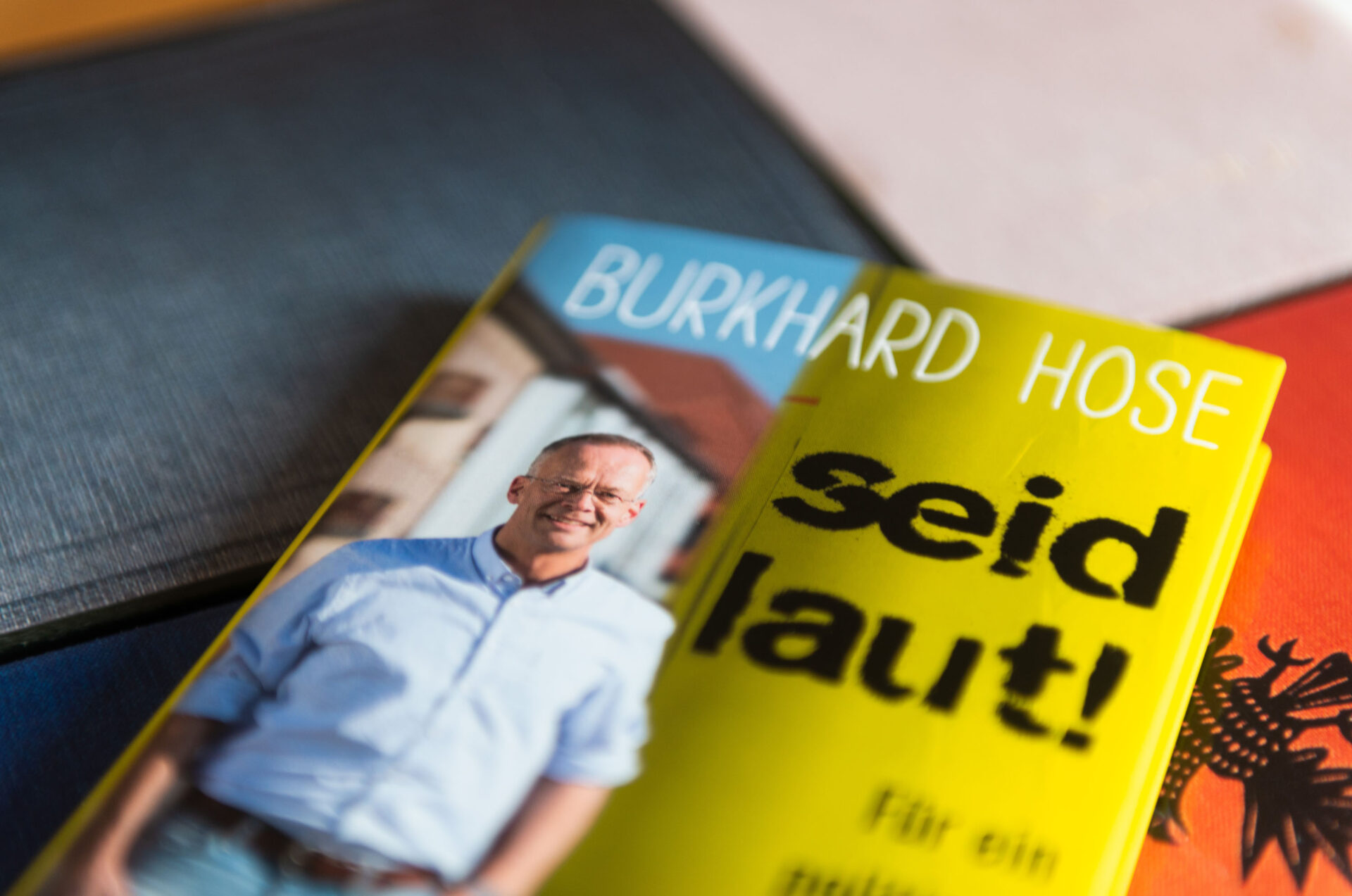 Buch Seid laut Burkhard Hose
