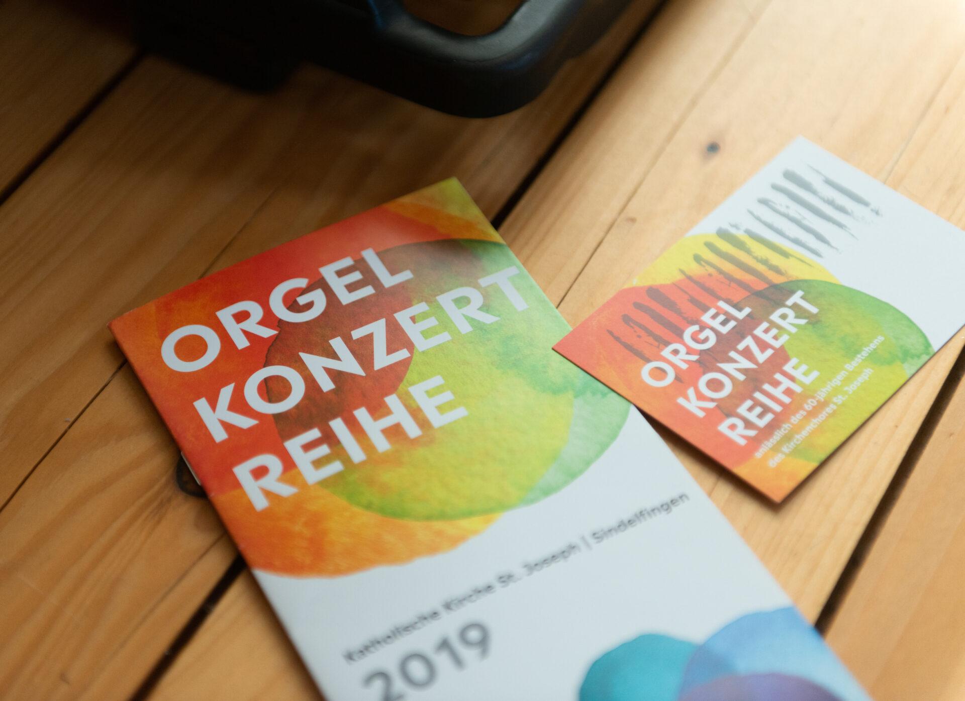 Flyer Orgelkonzert